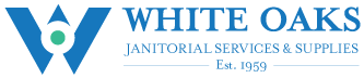 White Oaks Janitorial Services & Supplies Logo